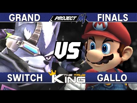 Project M - Switch (Wolf) Vs Gallo (Mario) - The True King Grand Finals