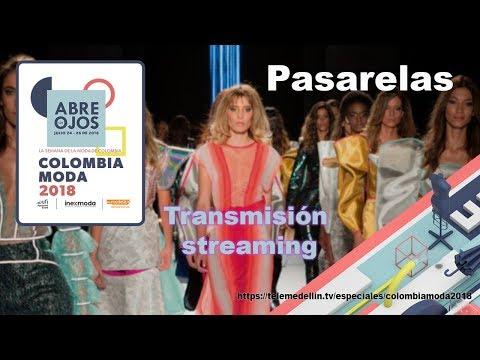 Pasarela Tv y Novelas, Studio F, Colombiamoda 2018.