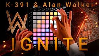 K-391 & Alan Walker - Ignite (feat. Julie Bergan & Seungri) | Launchpad Cover [UniPad]