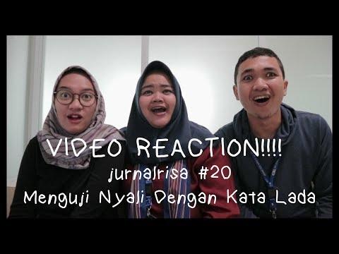 jurnalrisa #20 - MENGUJI NYALI DENGAN KATA LADA (Video Reaction)