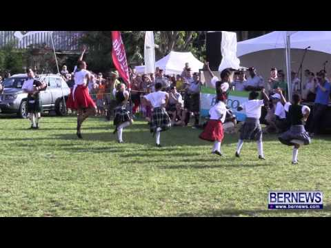 Bermuda Island Pipe Band & Dancers, June 15 2013