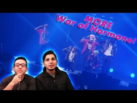 GUYS REACT TO BTS 'War of Hormone' HYYH Live