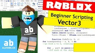 How To Script On Roblox For Beginners - Vector3 - Episode 6