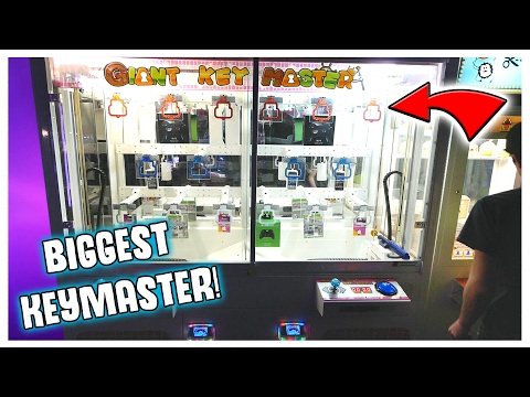 THE BIGGEST KEYMASTER EVER! || Arcade Games