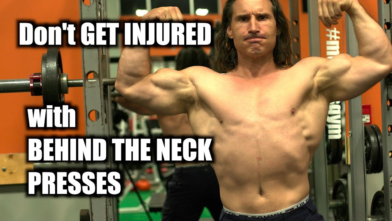 How to do Behind the Neck Presses for Shoulder Development