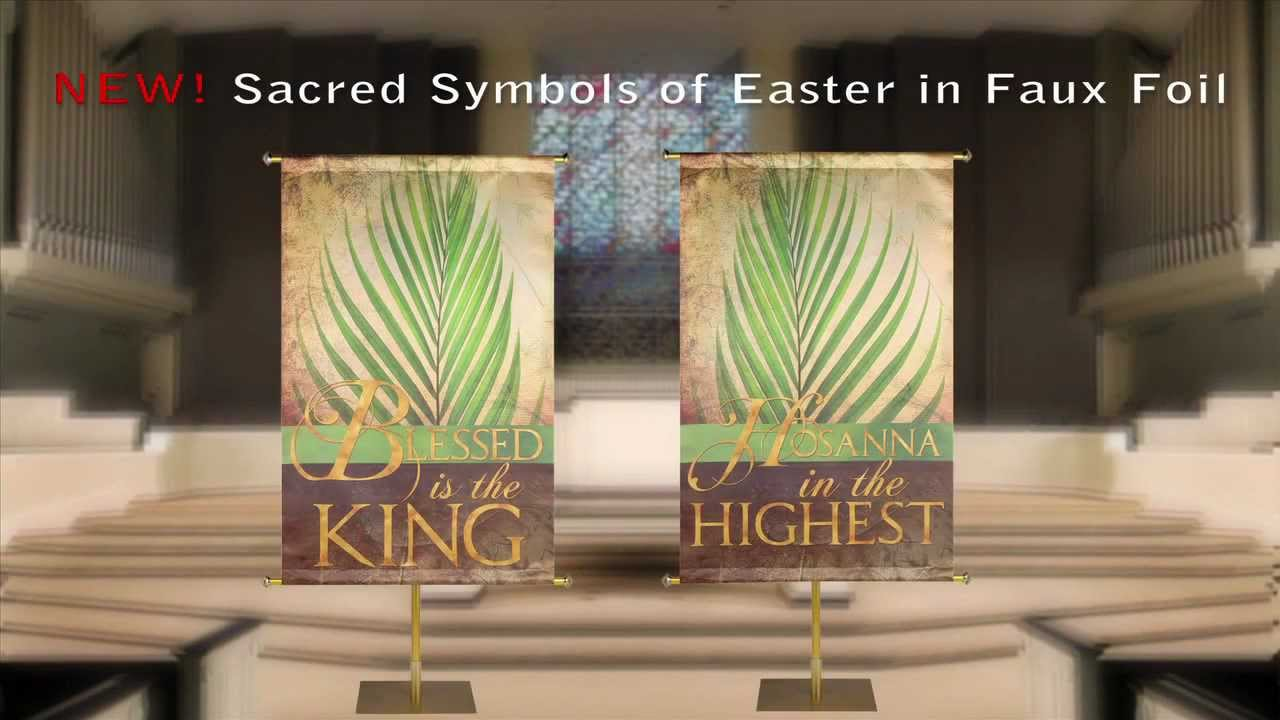 easter church banners from praisebanners
