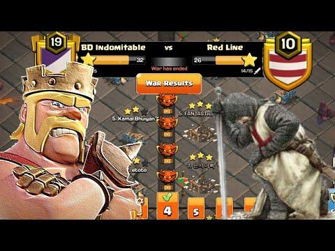 Clan War Leagues Attacks - TH12 Attacks 2019 - Champion 1 - Round 4 (Season 7) | Clash Of Clans