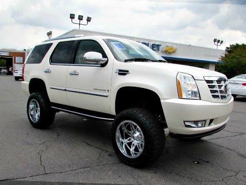 2014 Cadillac Escalade For Sale >> 2007 Cadillac Escalade Lifted - YouTube