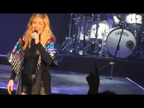 Ellie Goulding Live in Sacramento - Love Me Like You Do #DeliriumWorldTour 04.5.2016