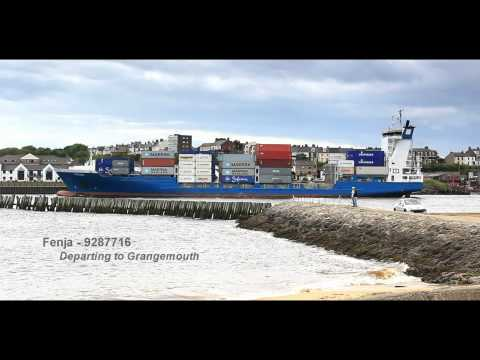 Port of Tyne 6 (HD) - Feeder Ship Movements: 13/06/12