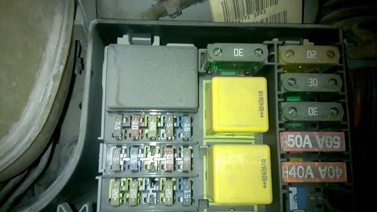 opel corsa fuse box diagram opel corsa c sİgorta kutusu - fuse box - youtube opel kadett fuse box diagram