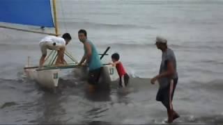 homemade catamaran siaton 1