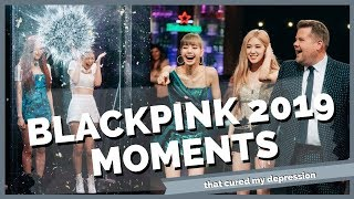 blackpink moments that cured my depression