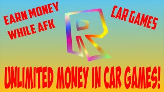 Roblox Glitch | Earn money while AFK, in any car games | Fast and Furious, Drive etc