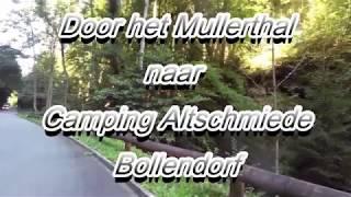 Door het Mullerthal naar Camping Altschmiede Bollendorf Honda Varadero XL 1000 (2017)