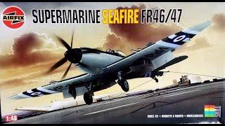Airfix 1/48 Supermarine Seafire FR.47
