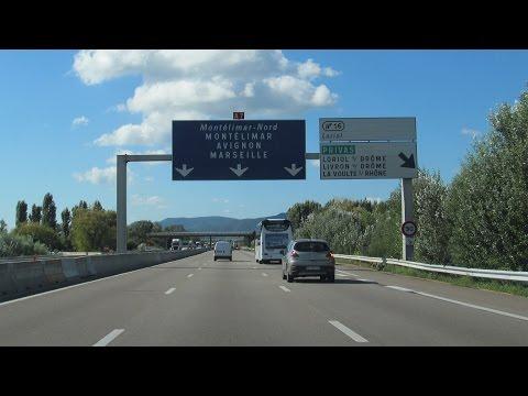 France: A7 Lyon - Orange (180 km)