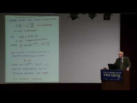 Korean Mathematical Society (제1회 4차 산업혁명과 수학 포럼, 석학강연)