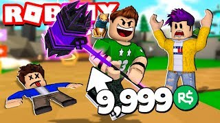 WE GET ROBLOX'S MOST POWERFUL MARK!! | Roblox Hammer Simulator