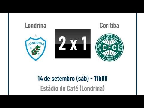 MELHORES MOMENTOS DO JOGO LONDRINA 2 X 1 CORITIBA 14/09/2019 CAMPEONATO BRASILEIRO SÉRIE B 2019