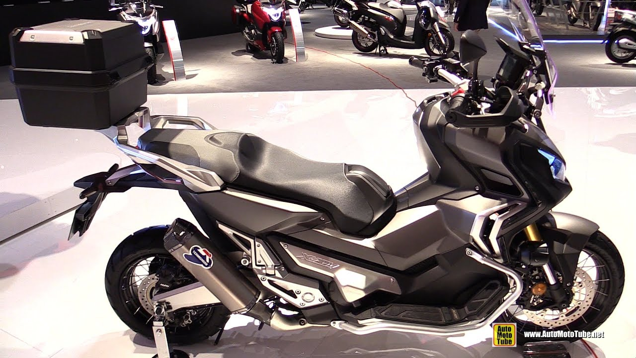2017 honda x adv 750 maxi scooter walkaround 2016 eicma milan youtube. Black Bedroom Furniture Sets. Home Design Ideas