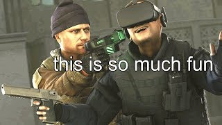 CS:GO IN VR (FUNNY MOMENTS)