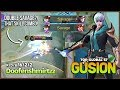 Double Savage from King of Gusion  Doofenshmirtzz Top Global Gusion S7   Mobile Legends