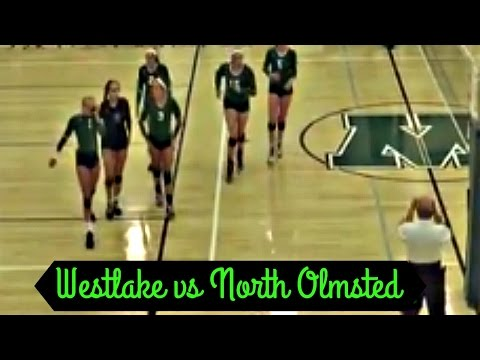 Westlake vs North Olmsted- VOLLEYBALL