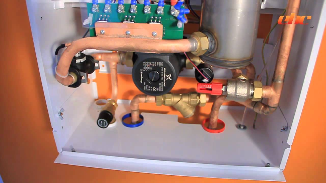 Comet Electric Boiler The Heating Company Youtube