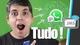 Como RECUPERAR TODAS as Mensagens e Conversas Apagadas do WhatsApp