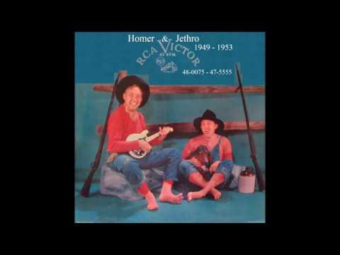 Homer & Jethro - RCA Victor 45 RPM Records - 1949 -1953