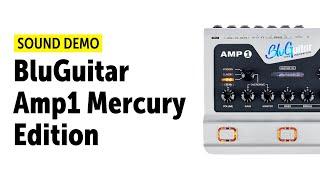 BluGuitar Amp1 Mercury Edition - Sound Demo (no talking)
