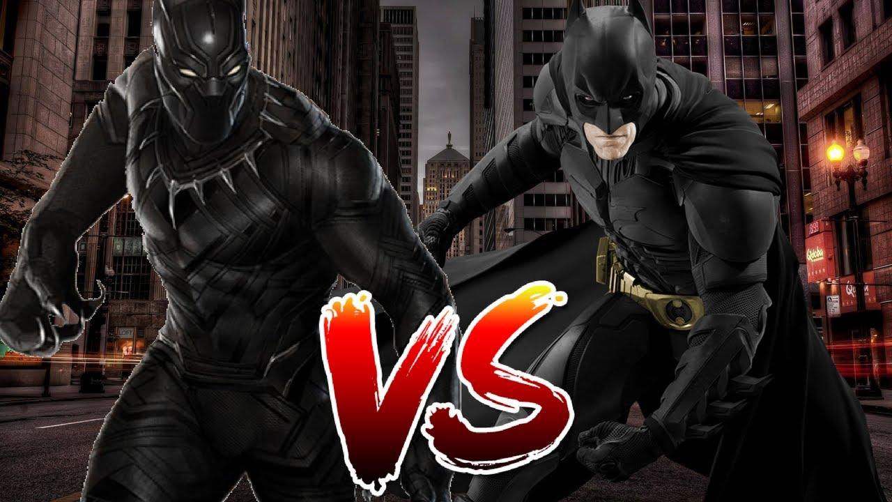 Batman VS Black Panther | Who Wins? - YouTube - photo#21