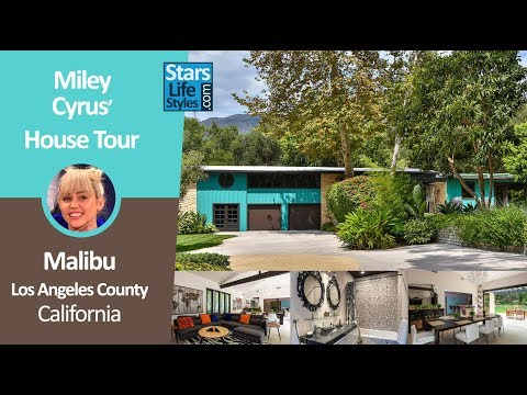 Miley Cyrus' Malibu House Tour | Los Angeles, California | $2.5 Million | Celebrity House