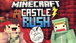 Unges HÖLLEN PARKOUR! - Minecraft CASTLE RUSH VS Rewi #03 | ungespielt