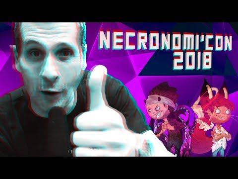 NECRONOMI'CON 2018 - Interview MARCUS