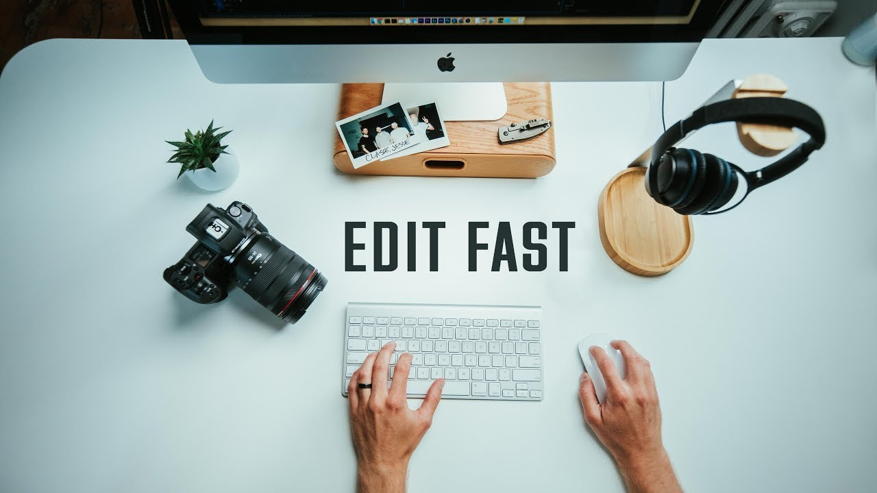 HOW TO EDIT VIDEOS FASTER // 1-2 hours per vlog