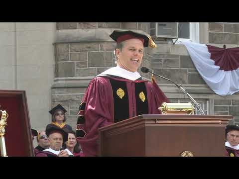 Fordham 2018 Commencement Speaker Timothy Shriver