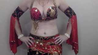 Belly Rolls & Butterflies/Flutters - Tutorial - Dance like an Egyptian