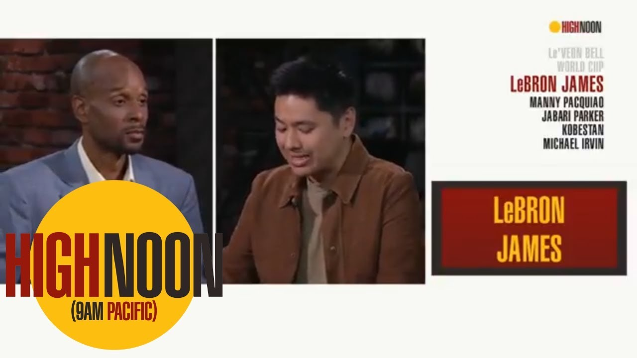 Pablo Torre: LeBron James looked happy at NBA summer League | High Noon | ESPN