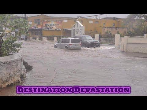 Disaster Montego Bay! Major flash flooding, severe damage in Jamaica!