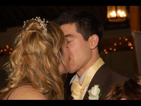 the best wedding kiss  very sexy
