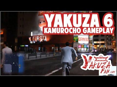 Kamurocho Gameplay - Ryu Ga Gotoku 6 / Yakuza 6 [TGS 2016]