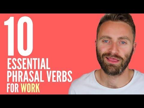 10 Essential Phrasal Verbs for WORK