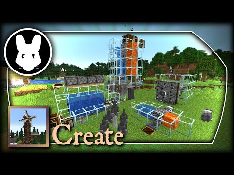 Create: Infinite Resources & Mechanical Drill! Bit-by-Bit By Mischief Of Mice!