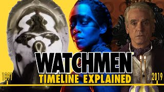 Watchmen Timeline Explained! Season 1 and Comic Connections