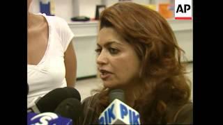 People fleeing Lebanon arrive in Cyprus