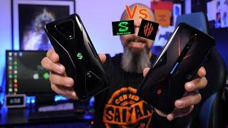 Red Magic 5G Vs Black Shark 3 Global Edition Gaming Comparison 5G بلاك شيرك3  مقابل نوبيا ريد  ماجيك