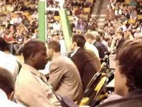 Wally Szczerbiak, Official Boston Celtics Bubble-Blower