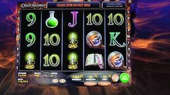 15  Crazy Wizard  50 Spins je 1€ auf Casino Club